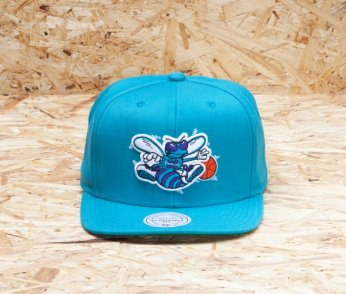 MITCHELL & NESS Wool Solid Charlotte Hornets